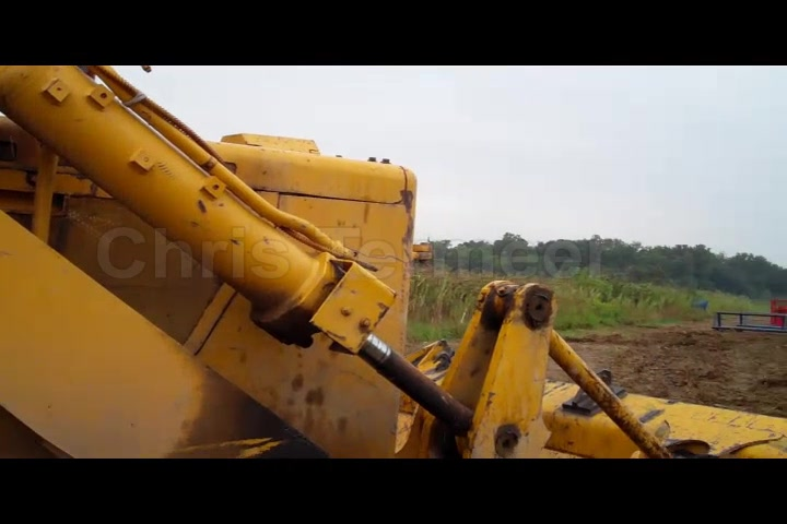 Chris Termeer - Dozer used on project 6 oil well site.