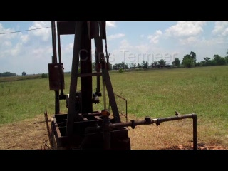 Chris Termeer - Pumpjack for Project 7 oil drilling field.